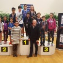 PODIUM FRANCE U11 U 15 ANS CHARTRES